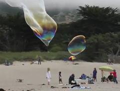 большие мыльные пузыри