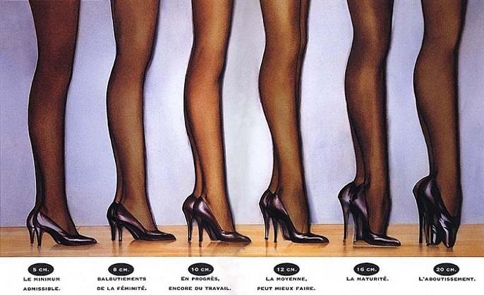 высокие каблуки модно но неразумно