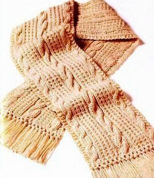 милый шарфик